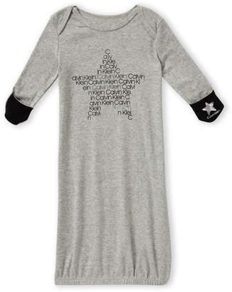 Calvin Klein Newborn Girls) Star Logo T-Shirt Dress