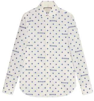 Gucci star fil coupé shirt