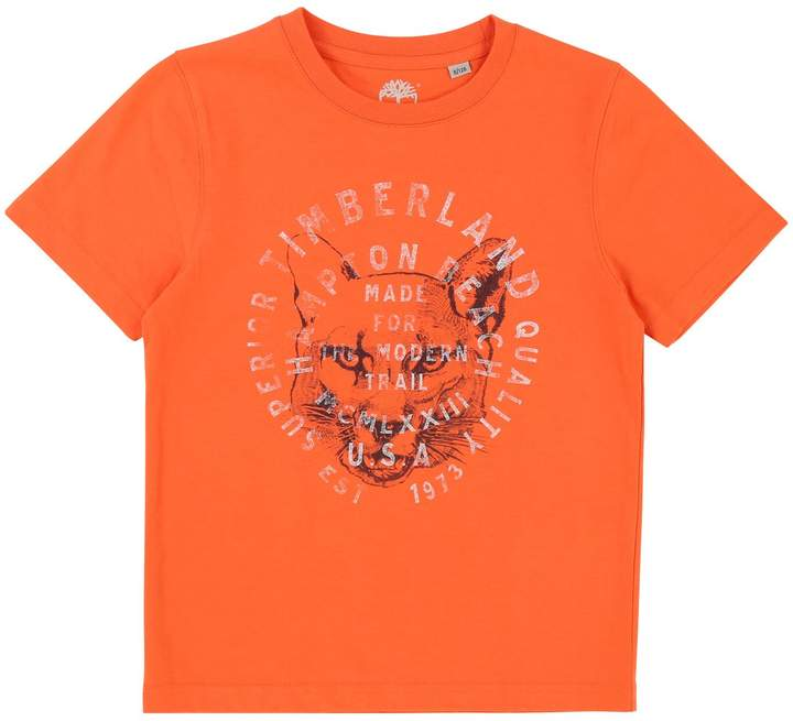 Kurzärmeliges T-Shirt - orange