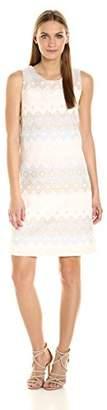 Helene Berman Women's Jacquard a-Line Dress