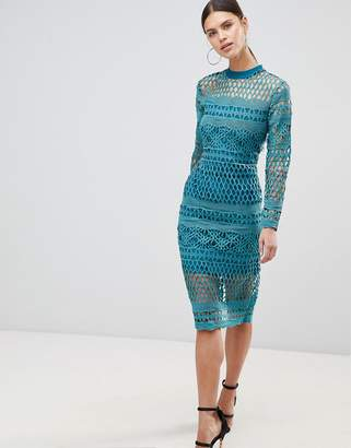 Forever Unique Lace Bodycon Dress