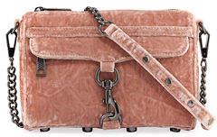 Rebecca Minkoff Mini MAC Velvet Crossbody Bag