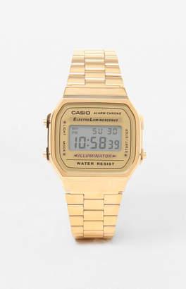 G-Shock Classic Digi Vintage Gold Watch