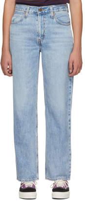 Levi's Levis Blue Dad Jeans