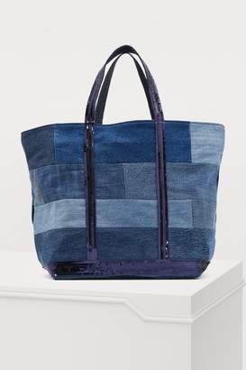 Vanessa Bruno Medium+ denim shopping bag