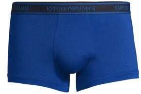 Emporio Armani Three-Pack Stretch Cotton Trunks