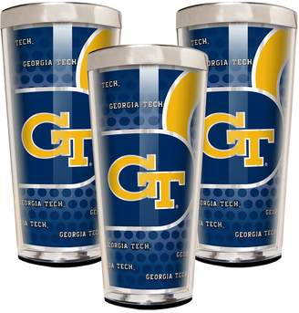 Georgia Tech Yellow Jackets 3-Piece Shot Glass Set