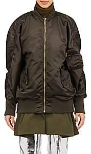 Balenciaga Women's Reversible Bomber Jacket - Olive