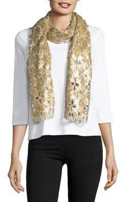 Collection 18 Sequin Lace Scarf