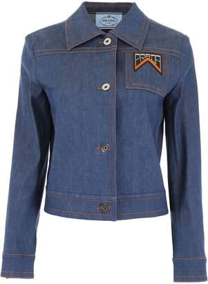 Prada Denim Logo Jacket