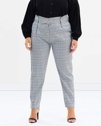 Fabel Belt Tailored Pants