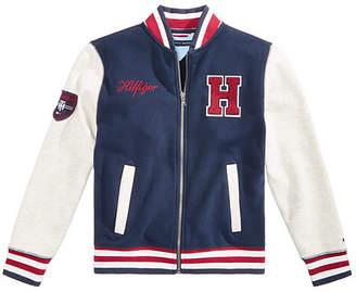 Tommy Hilfiger Toddler Boys Baseball Varsity Jacket