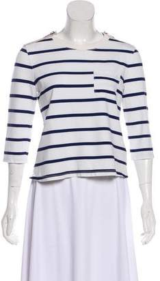 Burberry Stripe Knit Top