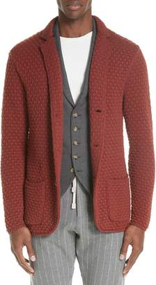 Eleventy Wool Sweater Jacket