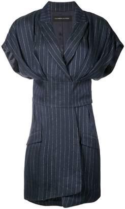 Alexandre Vauthier pinstripe dress