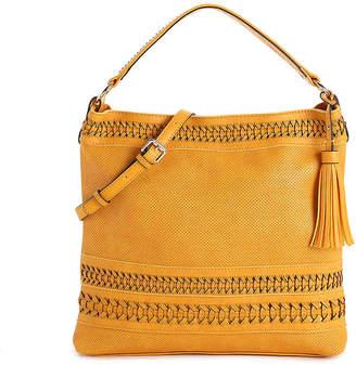 Urban Expressions Woven Hobo Bag - Women's