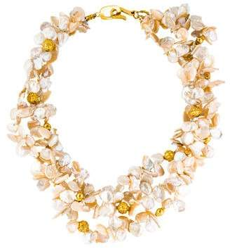 18K Multistrand Pearl Necklace