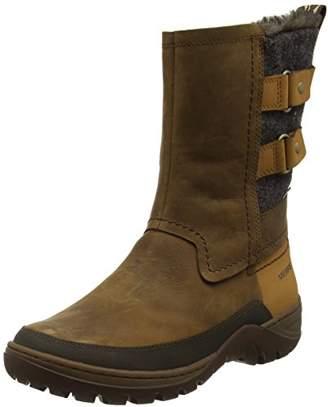 Merrell Women's Sylva Mid Buckle Waterproof Winter Boot