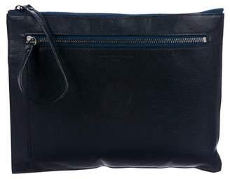 Maison Margiela Dual Zip Leather Pouch