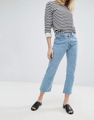 at ASOS Dr. Denim Meadow Mid Rise Crop Flare Jean