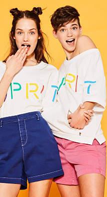 Esprit RETRO COLLECTION: Logo sweatshirt