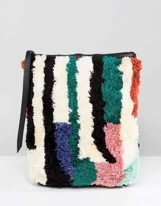 Cleobella Textured Mini Backpack