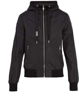 Dolce & Gabbana Logo-print hooded jacket
