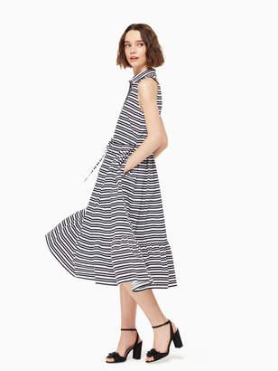 Kate Spade candy stripe shirtdress