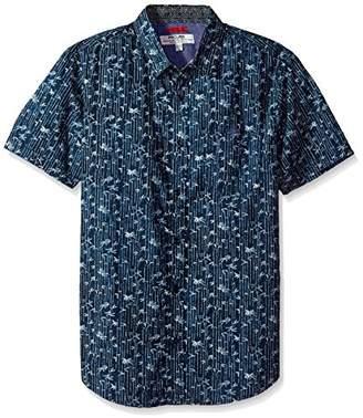 ProjekRaw Projek Raw Men's Seagull Print Woven Shirt