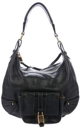 Marc Jacobs Leather Grained Leather Hobo Black Leather Grained Leather Hobo