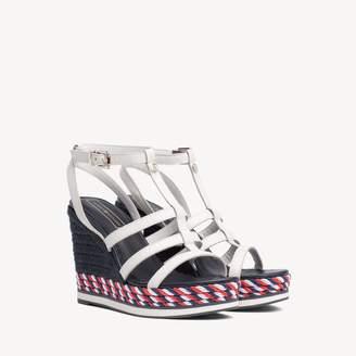 1c5e9e3e131 Tommy Hilfiger Platform Wedge Women s Sandals - ShopStyle