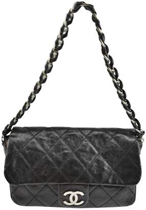 Chanel Black Leather Handbag
