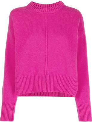 Santi ALESSIA seamed funnel neck jumper