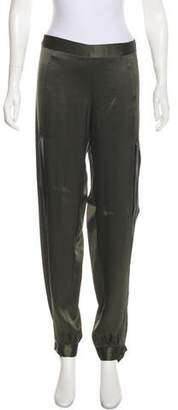 Michelle Mason Mid-Rise Silk Pants w/ Tags