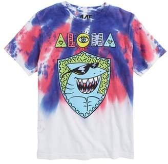 Mighty Fine Aloha Shark Graphic T-Shirt
