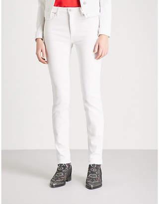 Zadig & Voltaire Eva Cher released-hem slim-fit mid-rise jeans