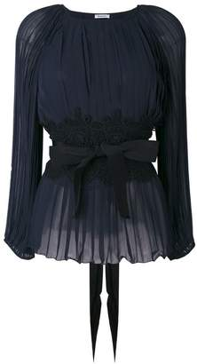 P.A.R.O.S.H. pleated blouse