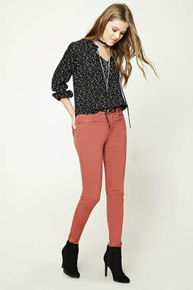 Forever 21 Stretch-Knit Skinny Jeans