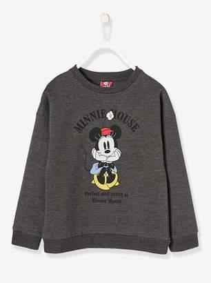 Vertbaudet Girls' Printed Minnie Sweatshirt