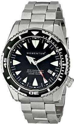 Momentum Men's 1M-DV30B0 M30 Automatic Analog Display Japanese Automatic Silver Watch