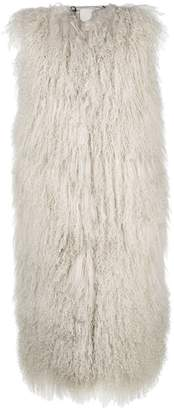 Giorgio Brato sleeveless oversized fur gilet