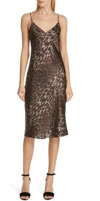 L'Agence Jodie Print Silk Slipdress