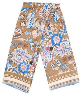 Albert Nipon Silk Printed Scarf
