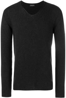 Roberto Collina v-neck knit sweater