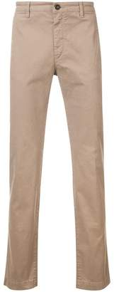Massimo Alba classic slim-fit chinos