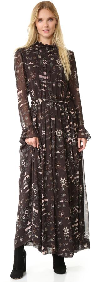 Antik Batik Chain Long Dress
