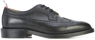 Thom Browne classic long wingtip brogues