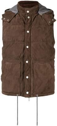 Eleventy padded hood vest