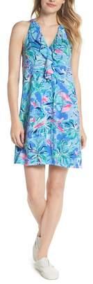 Lilly Pulitzer R) Shay Ruffle Halter Dress