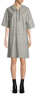 Public School Herringbone Hooded Dress